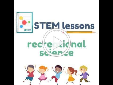 STEM LESSON - Recreational Science in English