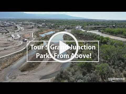 Drone Footage of 5 Grand Junction Parks - Grand Junction Parks and Recreation