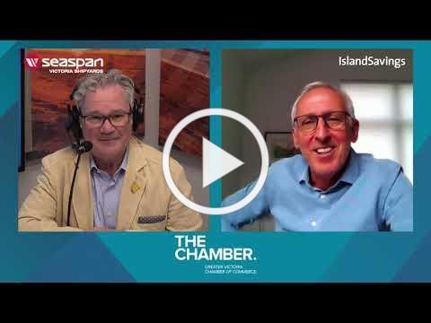 A chat with UVic President and Vice Chancellor Dr. Kevin Hall | Chamber Chats