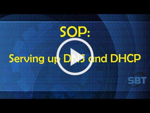 SOP: Where Do You Serve DNS and DHCP?