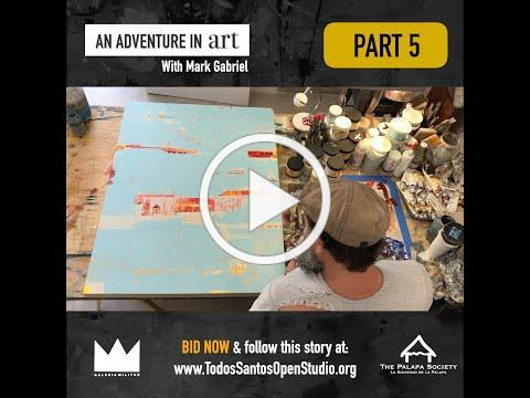 Adventure In Art with Mark Gabriel Progress - Part5