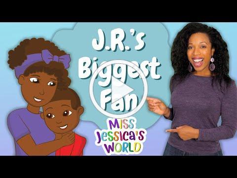 Book Nook | J.R.'s Biggest Fan by Sheila R. Thomas | Encouragement | Miss Jessica's World