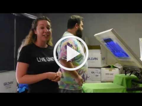 Trident United Way Takes You Behind the Scenes of Printing Day of Caring Shirts