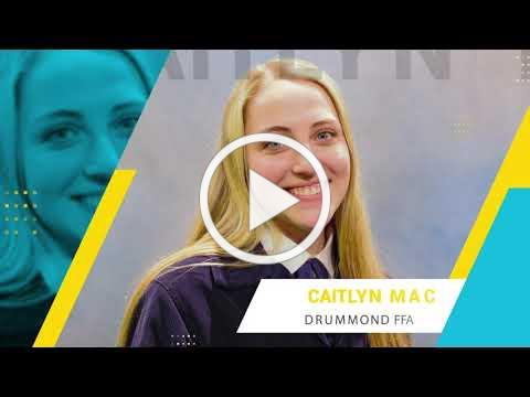 2021 Oklahoma Star Farmer- Caitlyn Mack of Drummond FFA