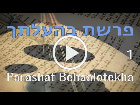 Parashat Behaalotekha | 1 | פרשת בהעלתך