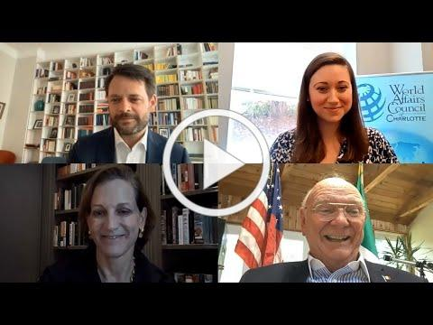 """""""Democracies in Distress: Europe at the US"""" With Anne Applebaum and Dr. David Deissner"""