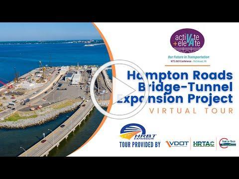 VDOT HRBT Expansion Virtual Tour Video