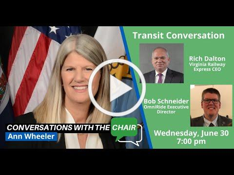 Transit Focused Conversation with the Chair