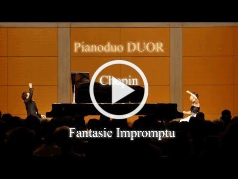 幻想即興曲, ショパン = グールド&シェフター ピアノデュオ ドゥオール[ 2台ピアノ クラシック有名曲 ショパン]