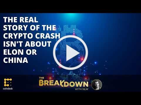 The Real Story of the Crypto Crash Isn't about Elon or China
