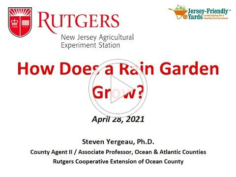 How Does a Rain Garden Grow? Hosted by the Barnegat Bay Environmental Educators Roundtable
