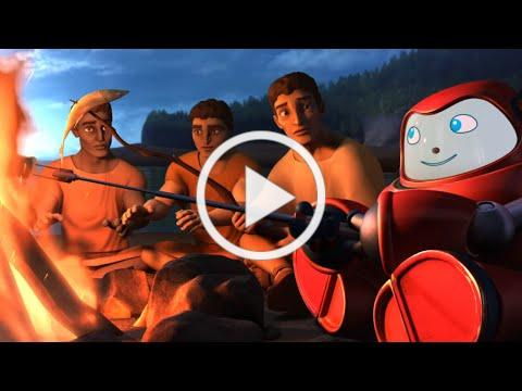 Superbook - Paul and the Shipwreck - Season 2 Episode 7 - Full Episode (Official HD Version)