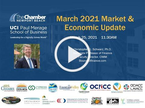 UCI and Newport Beach March 2021 Econ and Financial Forecast