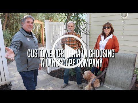 Customer Criteria In Choosing A Landscape Company