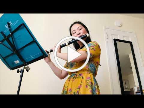 FRIDAYS with FRIENDS: Bethanne Walker - Bach: Partita for Solo Flute in A Minor BWV 1013 Sarabande