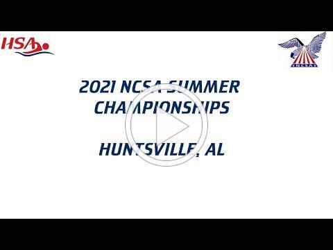 2021 NCSA Summer Championships - Tuesday Evening