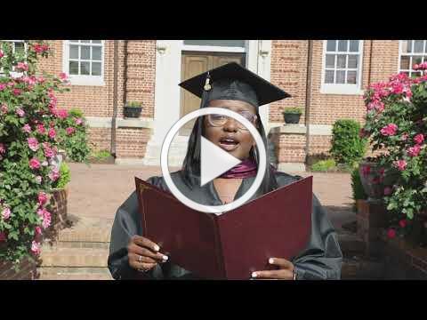 Thalia Butts, a 2021 top honor graduate