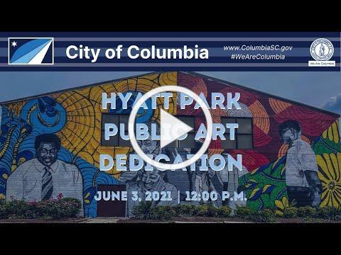 Hyatt Park Public Art Dedication Ceremony