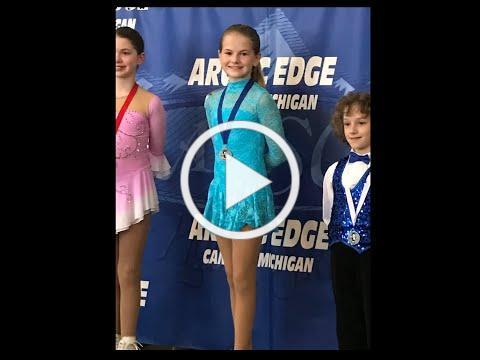 2019-2020 Ann Arbor FSC Axel Award Winner- Alyssa McKay