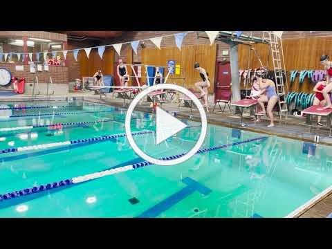 Ballard High School Girls Swim - Time Trial #2
