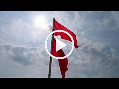 Emerald Isle Beach Warning Flag System