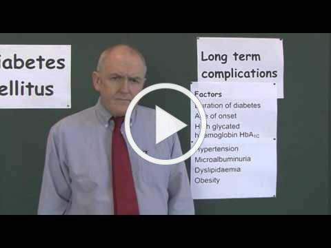 Diabetes 17, Long term complications of diabetes