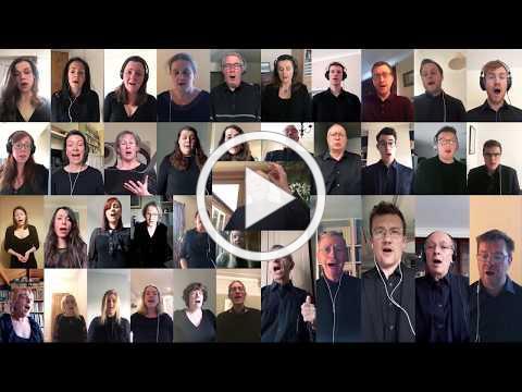 Ex Cathedra 'virtual choir' - Bach, O sacred head surrounded