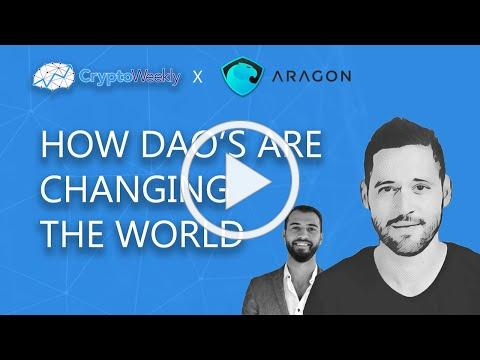 Joan Arús - How DAO's are Changing The World | CryptoWeekly Podcast