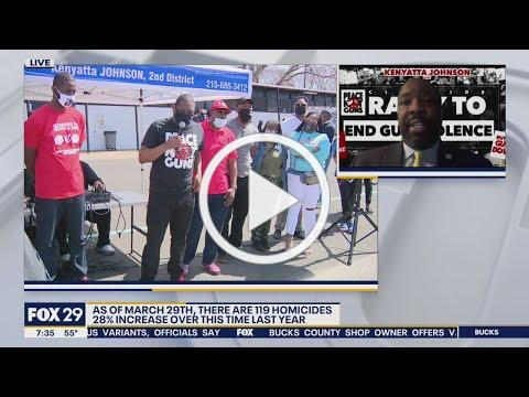 Philadelphia City Council committee on gun violence prevention addresses rising homicide rates