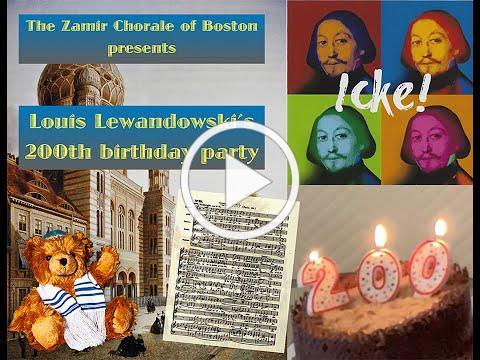 Louis Lewandowski Birthday Bash