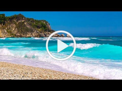The Most Relaxing Waves Ever - Ocean Sounds to Sleep, Study and Chill