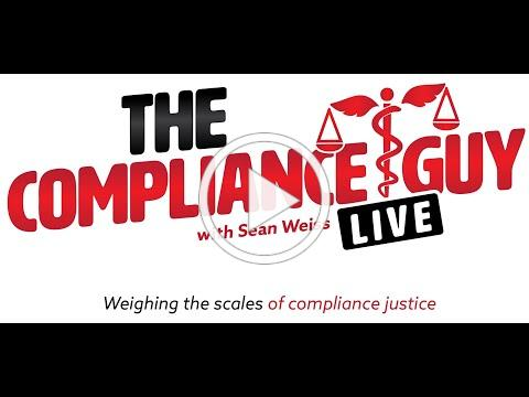 The Compliance Guy LIVE -Episode 1