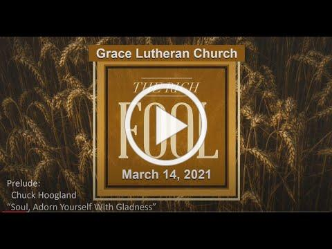 March 14, 2021 Worship Service