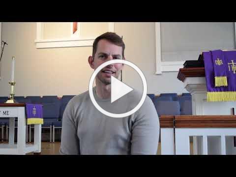greeting from Pastor David 3-27-20