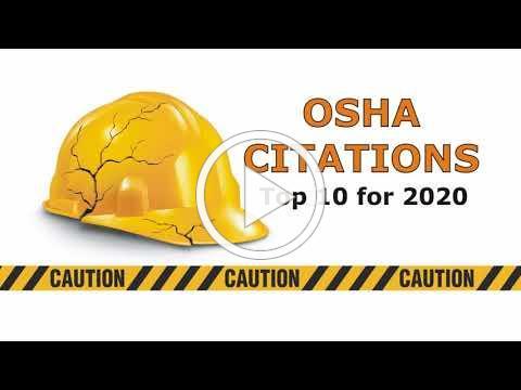 OSHA's Top 10 Citations for 2020