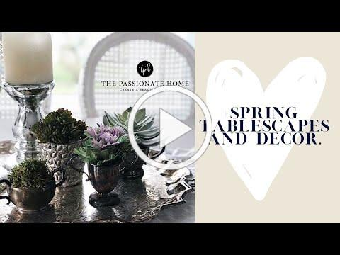 Spring Tablescapes | Decor Inspiration