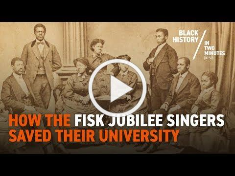 The Fisk Jubilee Singers: Perform the Spirituals and Save Their University