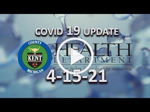 COVID 19 UPDATE 4 15 21