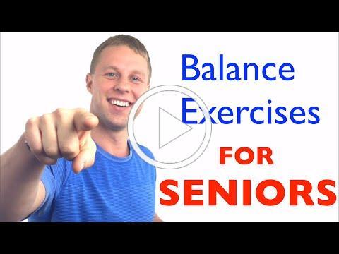 Balance Exercises for Seniors - Fall Prevention - Balance Exercises for Elderly