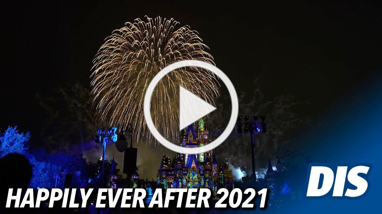 Fireworks return to the Magic Kingdom