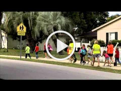 Walking school bus video