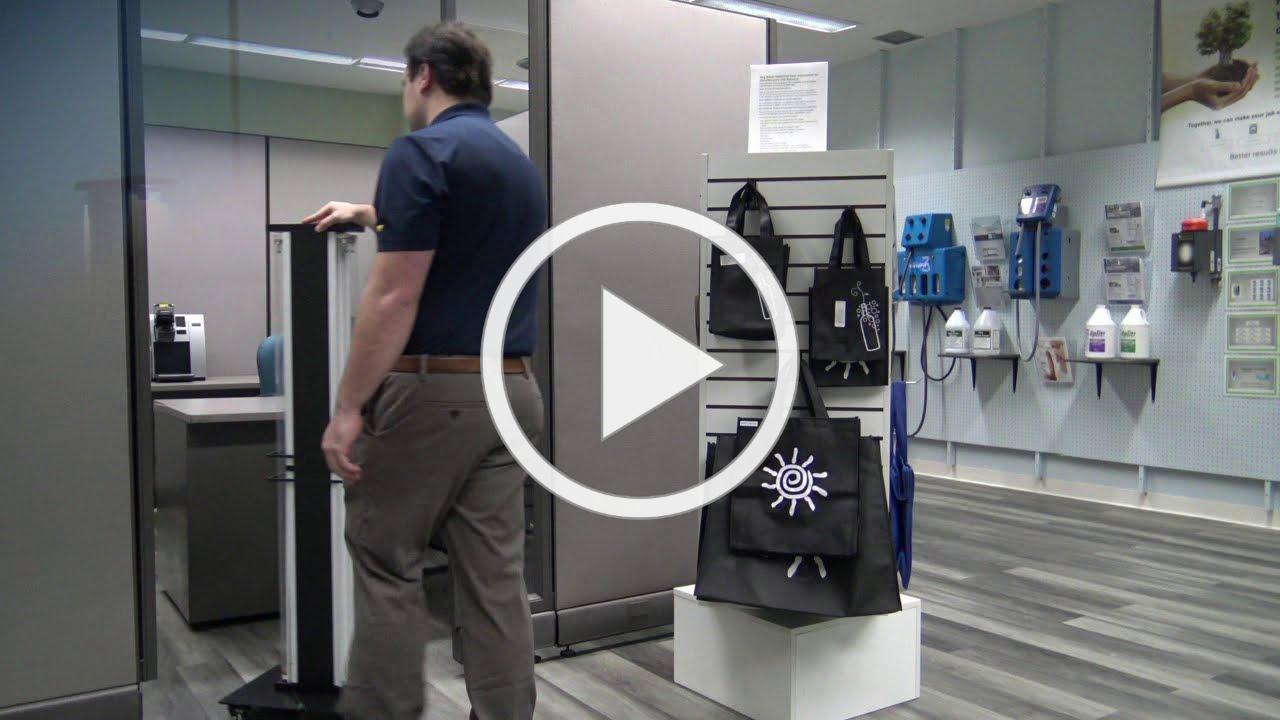 See UV-C  Floor Models in Action