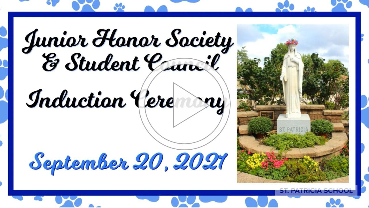 JHS & Student Council Inductions 2021