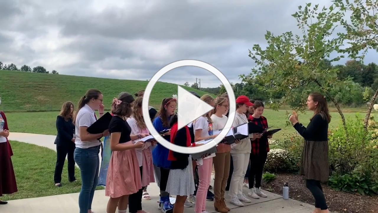 Choir Leading Rosary