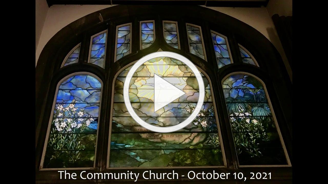 October 10, 2021 Lily Reid Holt Memorial Chapel