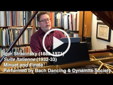 Igor Stravinsky: Suite Italienne - Minuet and Finale
