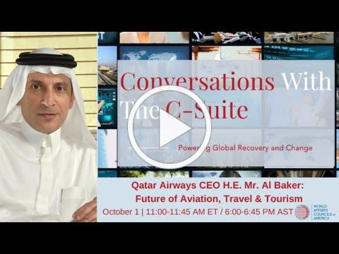 2020 Conversations With The C-Suite | Future of Aviation, Travel & Tourism