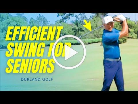 GOLF TIP   The Most Efficient Golf Swing For Seniors