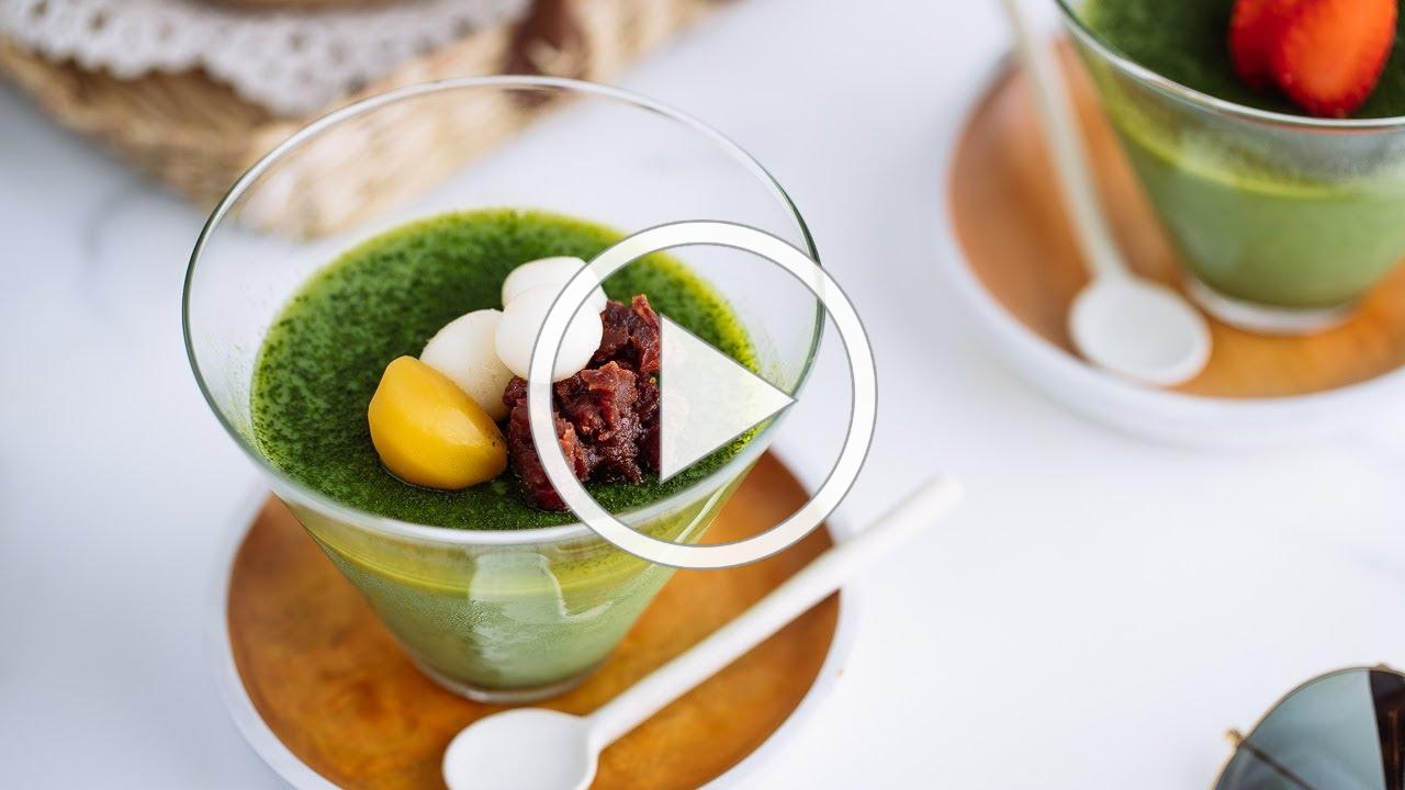 How to Make Matcha Vegan Panna Cotta (Recipe) ヴィーガン抹茶パンナコッタの作り方 (レシピ)