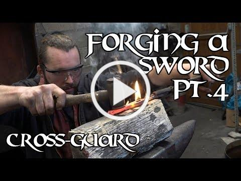 Forging a sword - part four: linishing and quillons